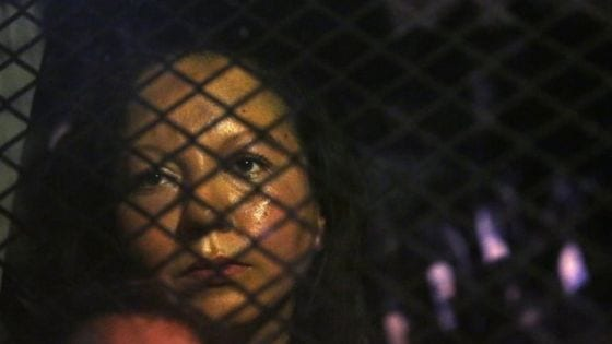 Mexican woman deported from the US despite protests