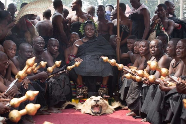 Otumfuo Marks 80th Day of his Mother's Death