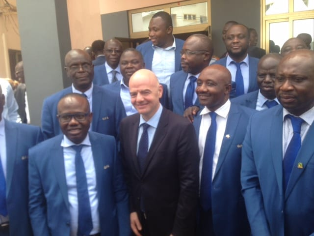 FIFA boss Infantino assures Africa of at least SEVEN places in expanded World Cup