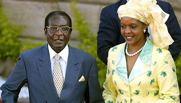Even a dead Robert Mugabe could stand in Zimbabwe election – wife