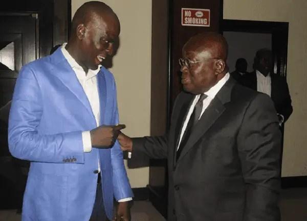 President Nana Akufo-Addo Heaps Praises on Haruna Iddrisu