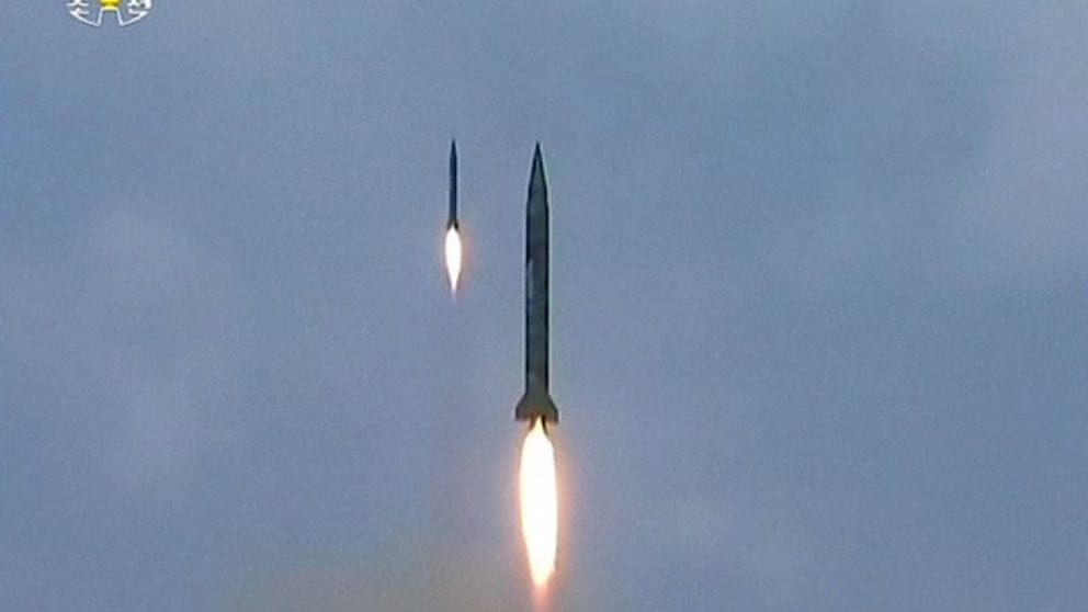 N Korea missile launch 'training for attack on US base in Japan'