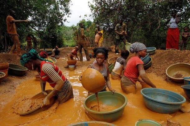Our galamsey operations isn't near water bodies- Bole residents