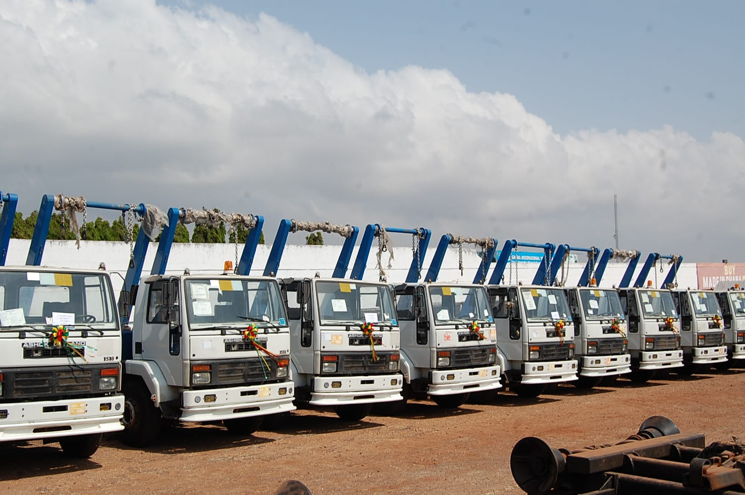 Zoomlion Appeals to Gov't to Reduce Import Duties on Waste Collection Trucks
