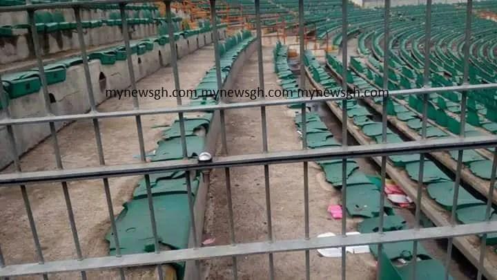 PHOTOS: Accra Sports Stadium in Ruins