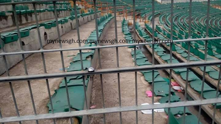 PHOTOS: Accra Sports Stadium in Ruins