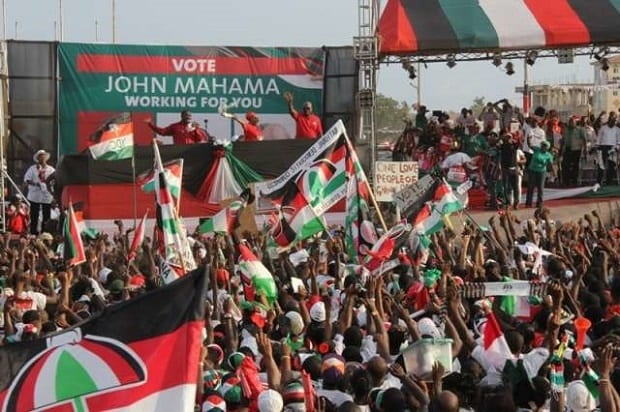 NDC elect new leaders in January 2018