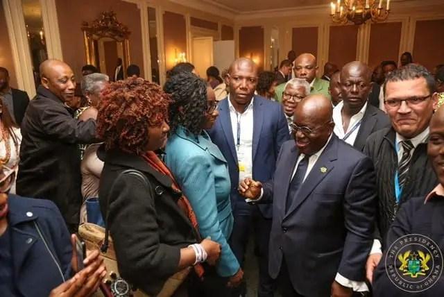 PHOTOS :Nana Addo meets Ghanaians in Geneva