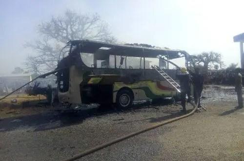 U/E: Fire Burns Two Vehicles of Bolgatanga Institute