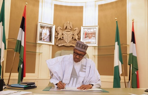 Buhari works from home – Presidency