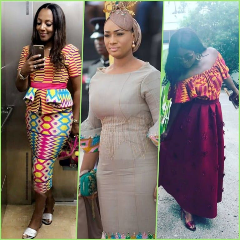How stunning Samira Bawumia and Nana Addo's daughters looked for Independence Day