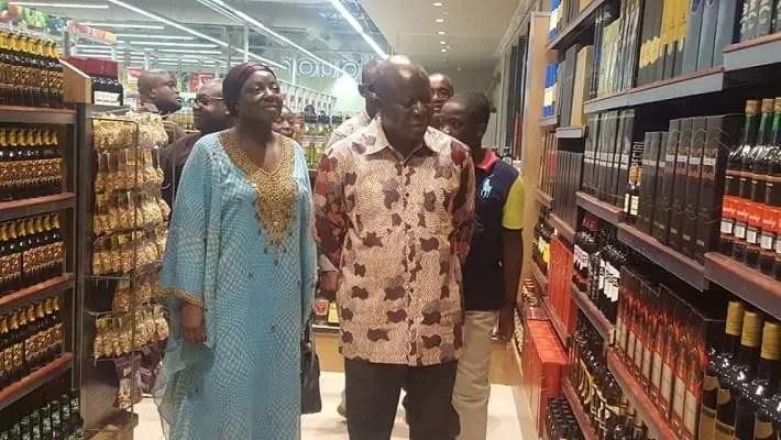 Otumfuo, Lady Julia Visit Kumasi City Mall Ahead of Grand Opening