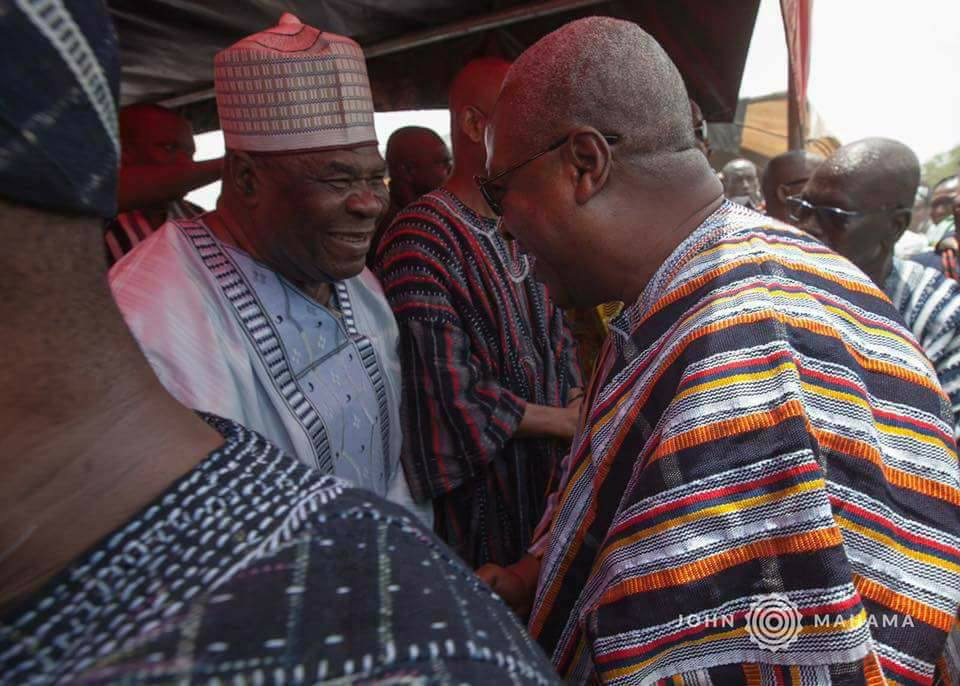 What Mahama Told Bugri  Naabu When They Met At Sawla
