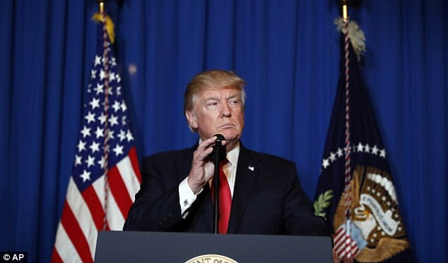 Trump explains why he launched air strikes on Syria