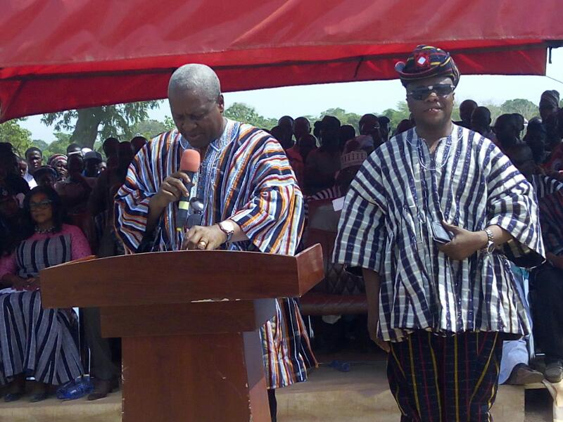 Mahama urges kinsmen to take advantage of opportunities created by NPP gov't
