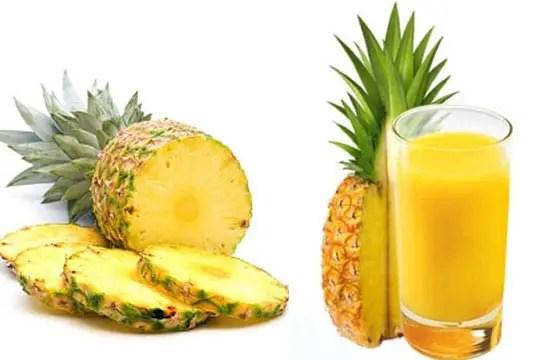 Five possible health benefits of pineapple juice