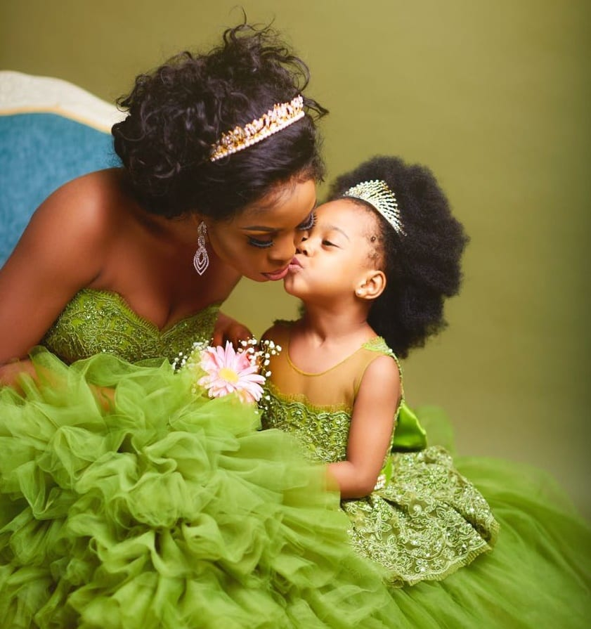 PHOTOS:Mother and daughter in lovely photoshoot