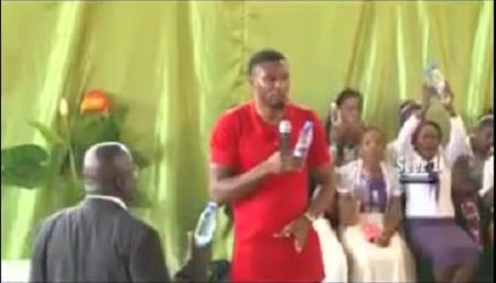 VIDEO:Pastor turns water into kerosene