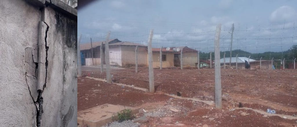 Ayamfuri residents decry substandard materials used for compensation homes