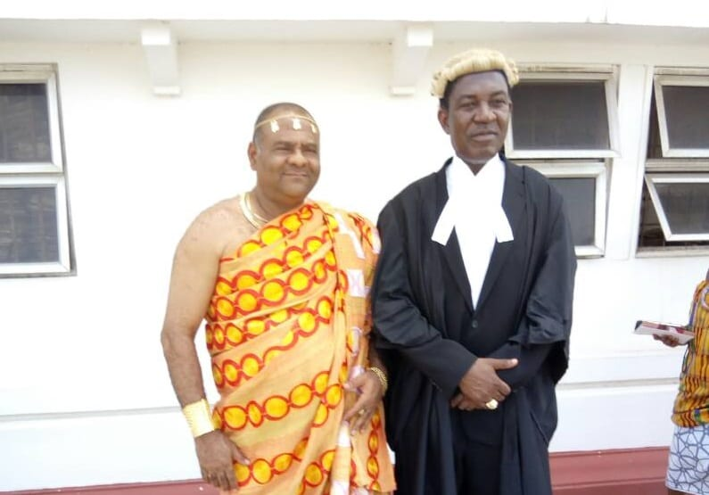 Paramount ChiefofTechiman Called to the Bar