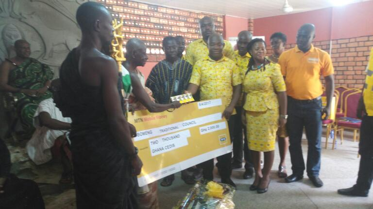E/R: MTN Supports 2017 Kwahu Easter with GH¢9000