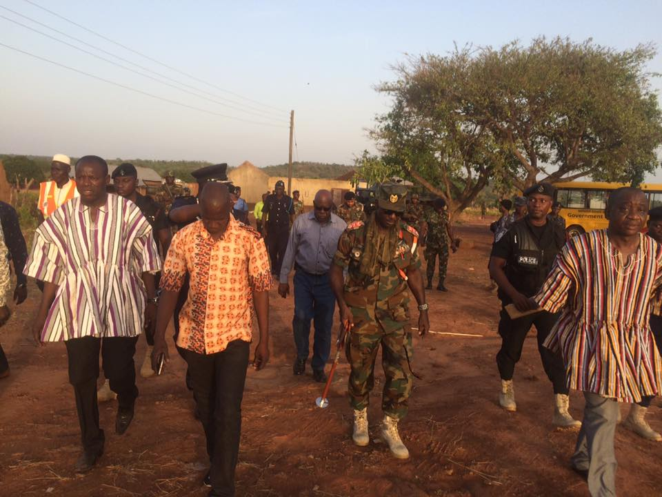 Security Council visits Troubled Sayeegu and Sambiluk communities