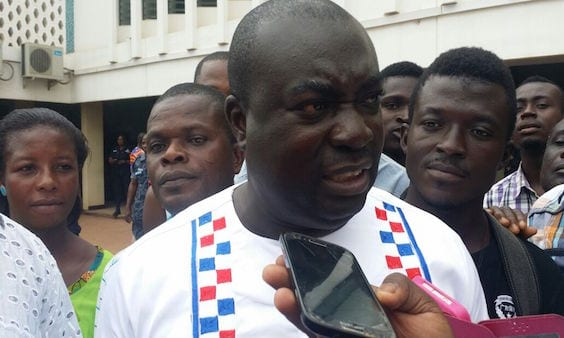 DCE , NPP MP in  galamsey fight