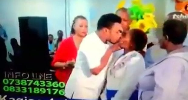Meet the Nigerian pastor who heals his congregants by kissing them passionately