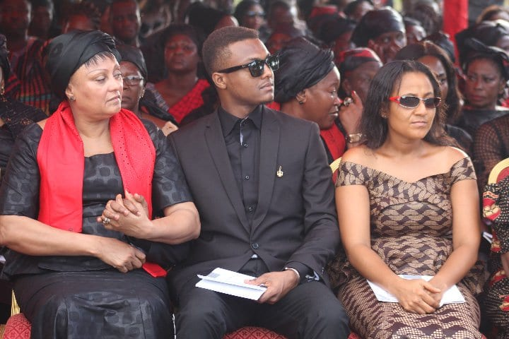 PICTURES:Political Figures at Major Mahama's Funeral