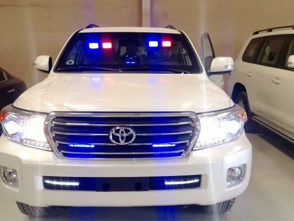 Auction Mahama's Armoured vehicles-Allotey Jacobs