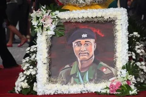 PHOTOS:Major Mahama's final funeral rites in  Bole and Tumu