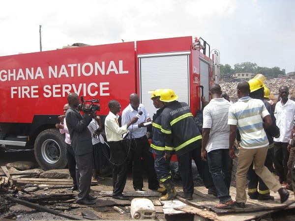 Government to establish fire station at Kumasi Central market