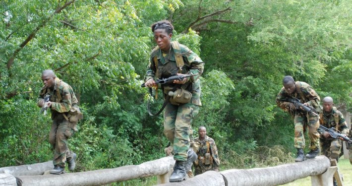 Residents flee from community for fear of military brutality
