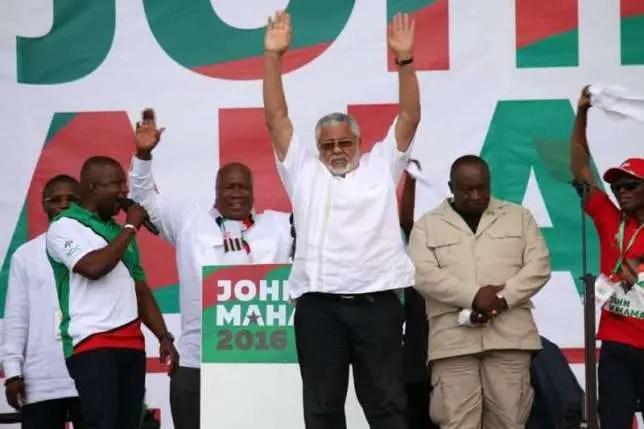NDC risks political 419 by criminal executives-Rawlings