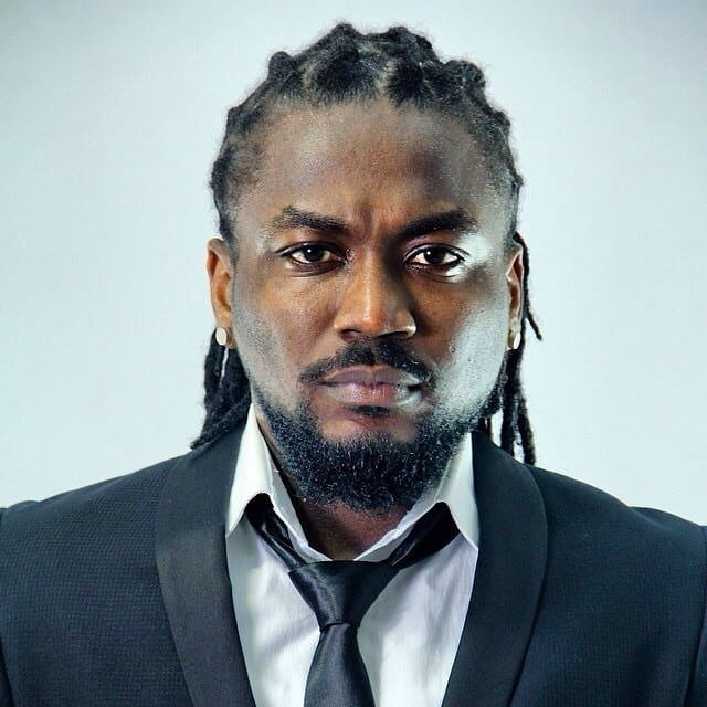 Photo: Samini flaunts his two-year-old-son