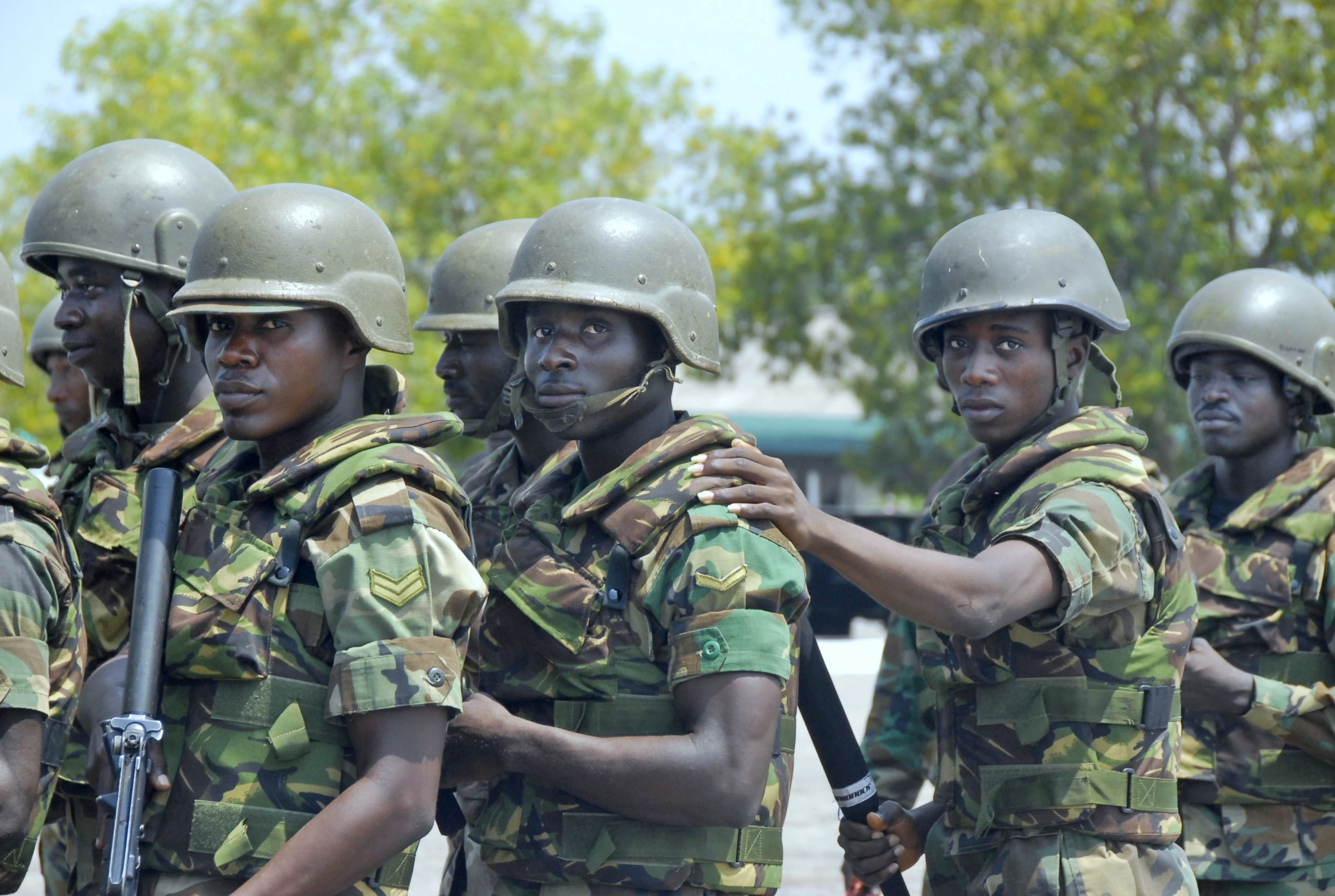 AUDIO: Angry Soldiers Reactions to Mahama's Death