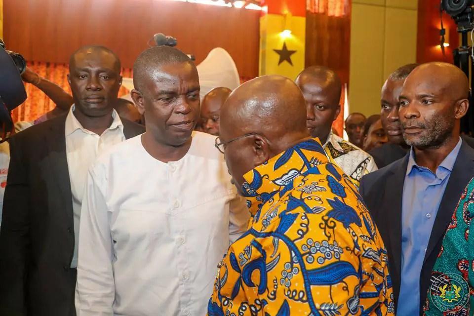 PHOTOS: Akufo-Addo meets the press