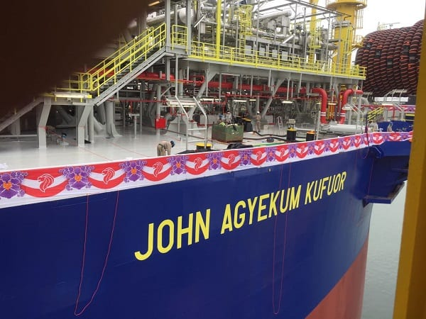President to commission FPSO John Agyekum Kufuor today