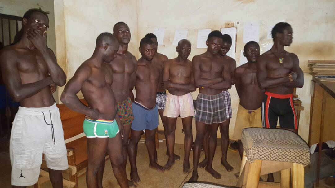 Salaga police arrest 15 persons with 'wee'