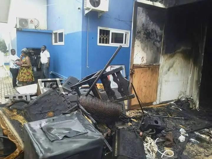 VIDEO :'Kintampo Disaster Prophet' Prophesied Royal TV Fire Outbreak Days Earlier