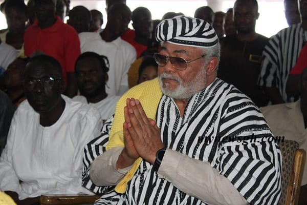 Politics in Ghana now synonymous to wealth creation-Rawlings