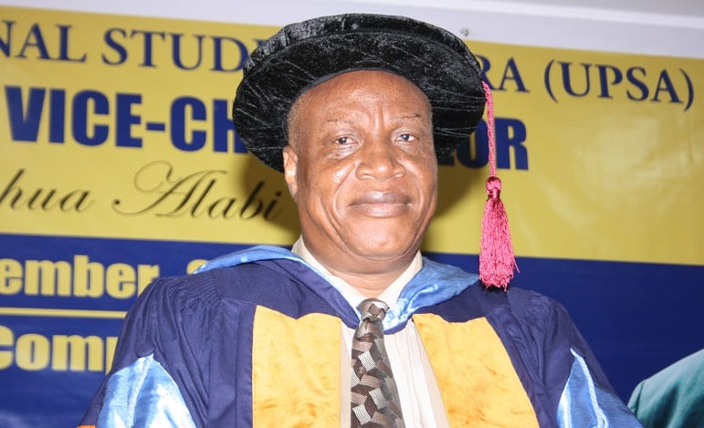 My good works at UPSA and SSNIT earned me the accolade 'Transformer-General'- Prof Alabi