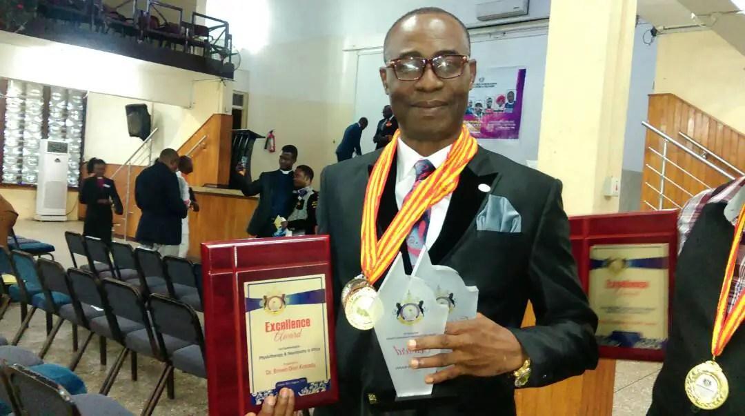 International Organization Honours Ghanaian Philanthropist