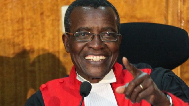 We're ready to pay 'ultimate price' – Defiant Kenyan Chief Justice