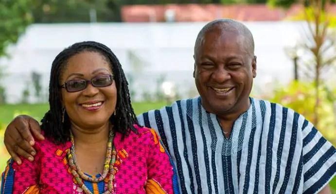 John Mahama celebrates beautiful Lordina on Mothers Day