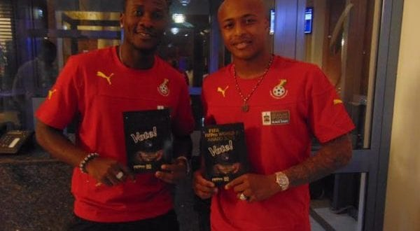 Asamoah Gyan, Andre miss out in Congo Brazaville return match