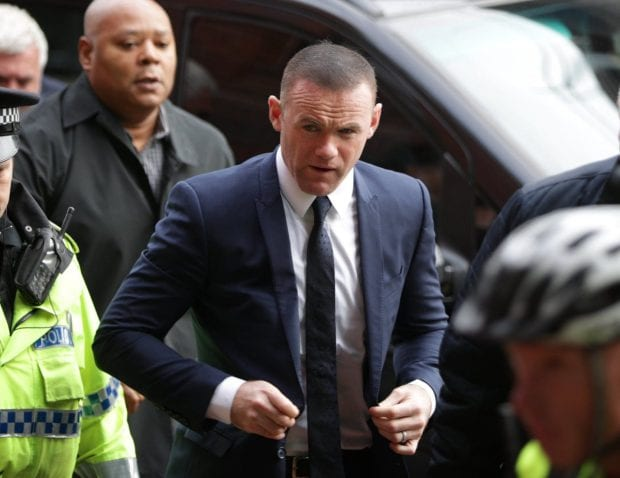 Wayne Rooney given two-year driving ban after pleading guilty to drink-drive charge