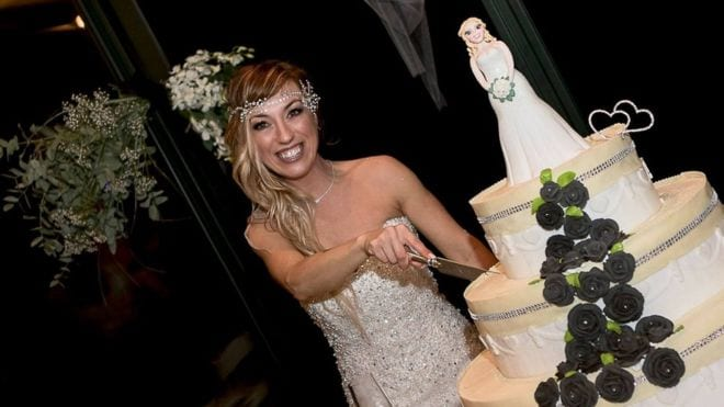 Italian woman marries herself in 'fairytale without prince