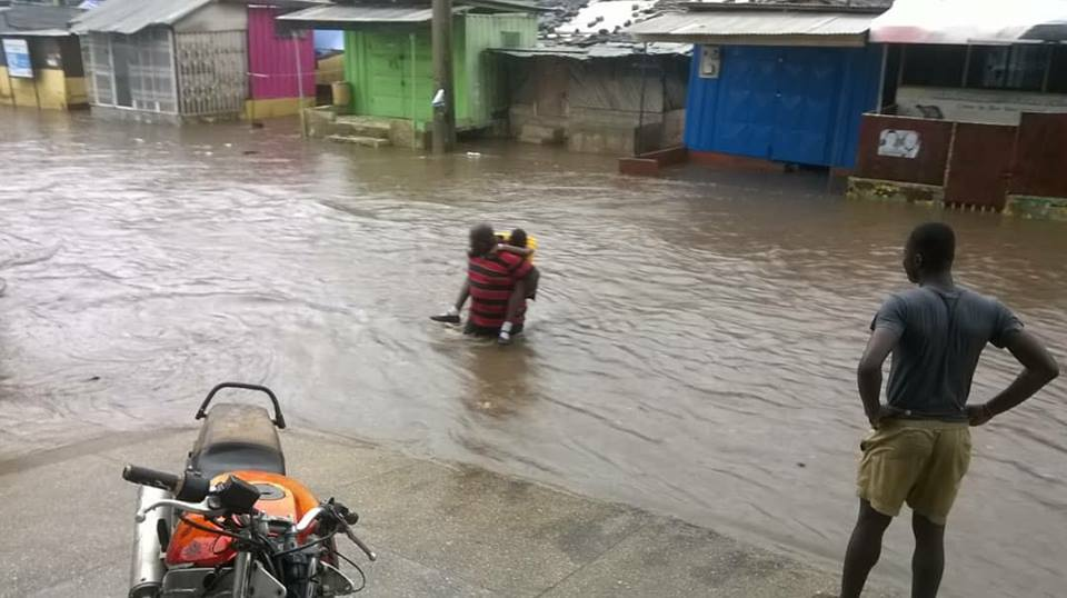 PHOTOS: Parts of Accra flooded after heavy downpour