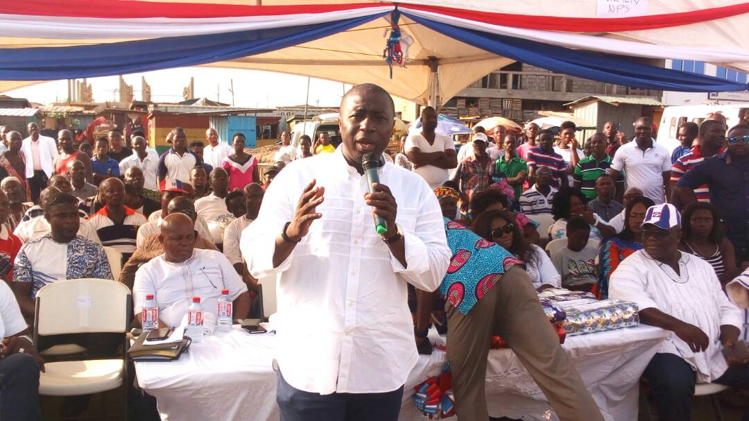 Be patient with gov't and your MPs-Dep.Minister advises NPP supporters
